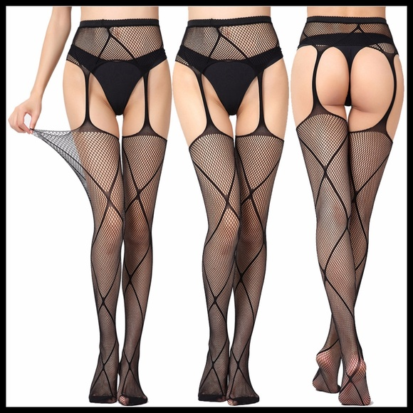 Miss Babydoll Other - ❤️NEW Sexy Fishnet Garter Belt Stockings #S1138
